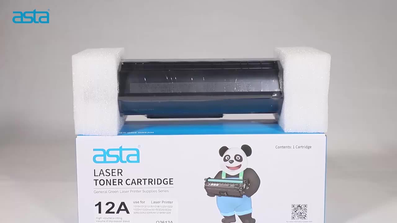 ASTA Stock Wholesale Compatible CF217A 17A Toner Cartridge For HP Pro M102 MFP M130fw Laser Printer