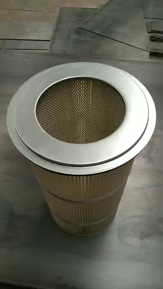 High Efficiency air purifier filter canister filter element for dust collector