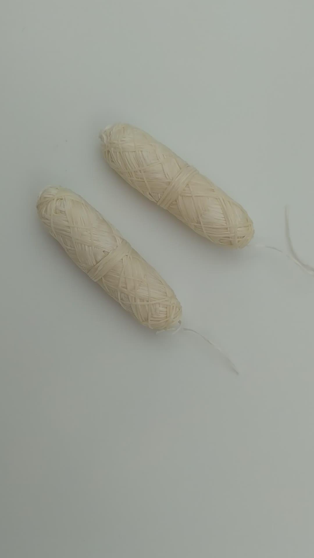 Eco-friendly Natural Silk Dental Floss Length 32.8 YD OEM Wholesale