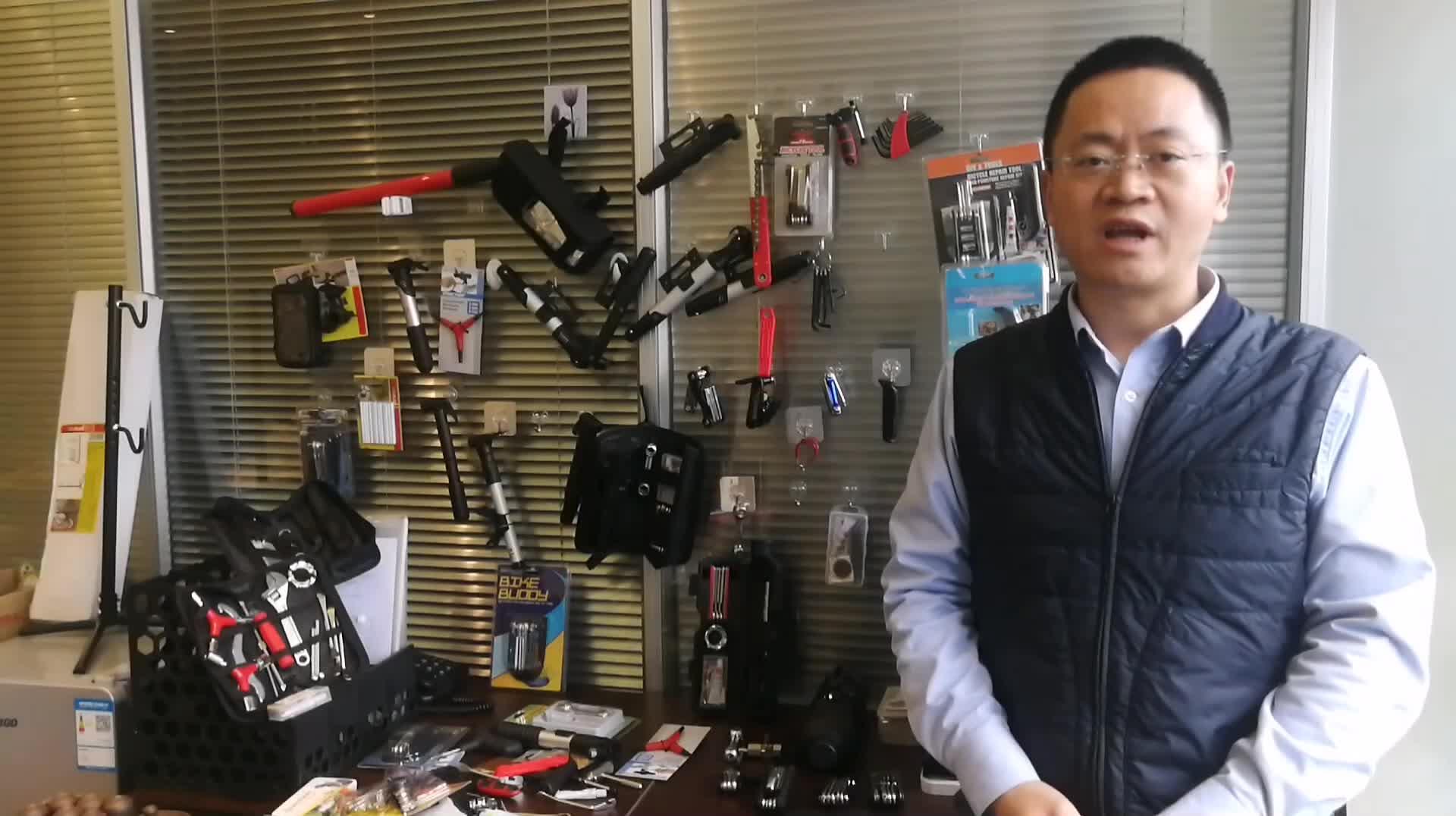 19 in 1 Multi function bike repair kit, bike tools repair kit, bike repair tools kit