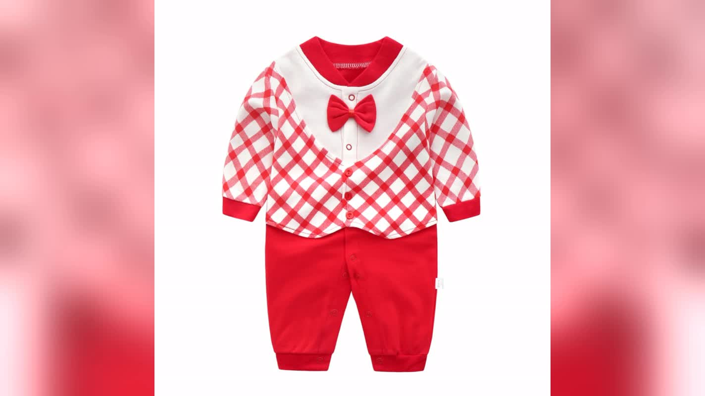 Infants & Toddlers Baby Clothes Newborn Baby Romper Lovely Kids Clothing