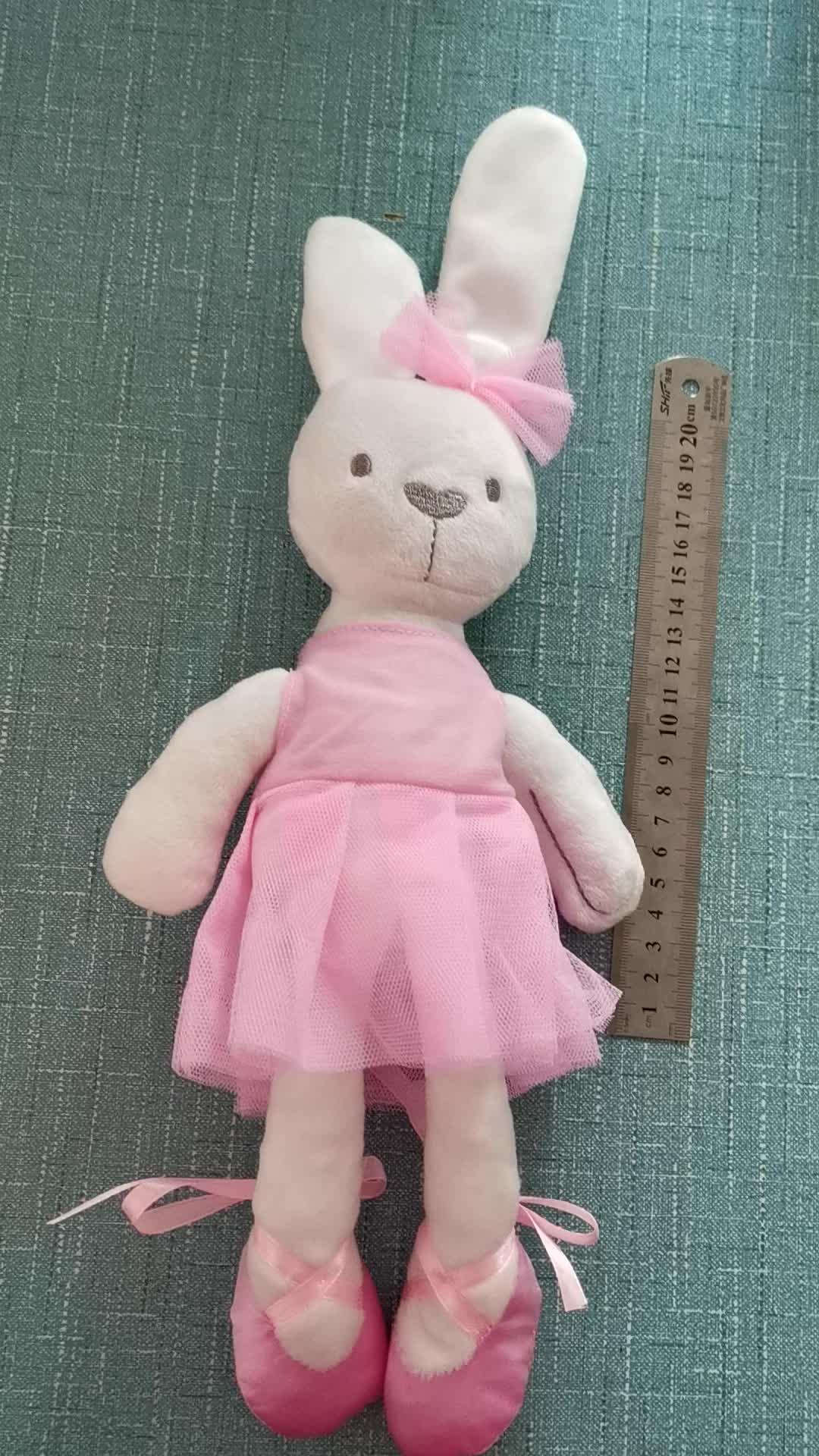 45 Cm Besar Lembut Hewan Mewah Kelinci Kelinci Mainan Anak Bayi Perempuan Anak Laki-laki Tidur Boneka Hewan Peliharaan Mainan Brinquedos