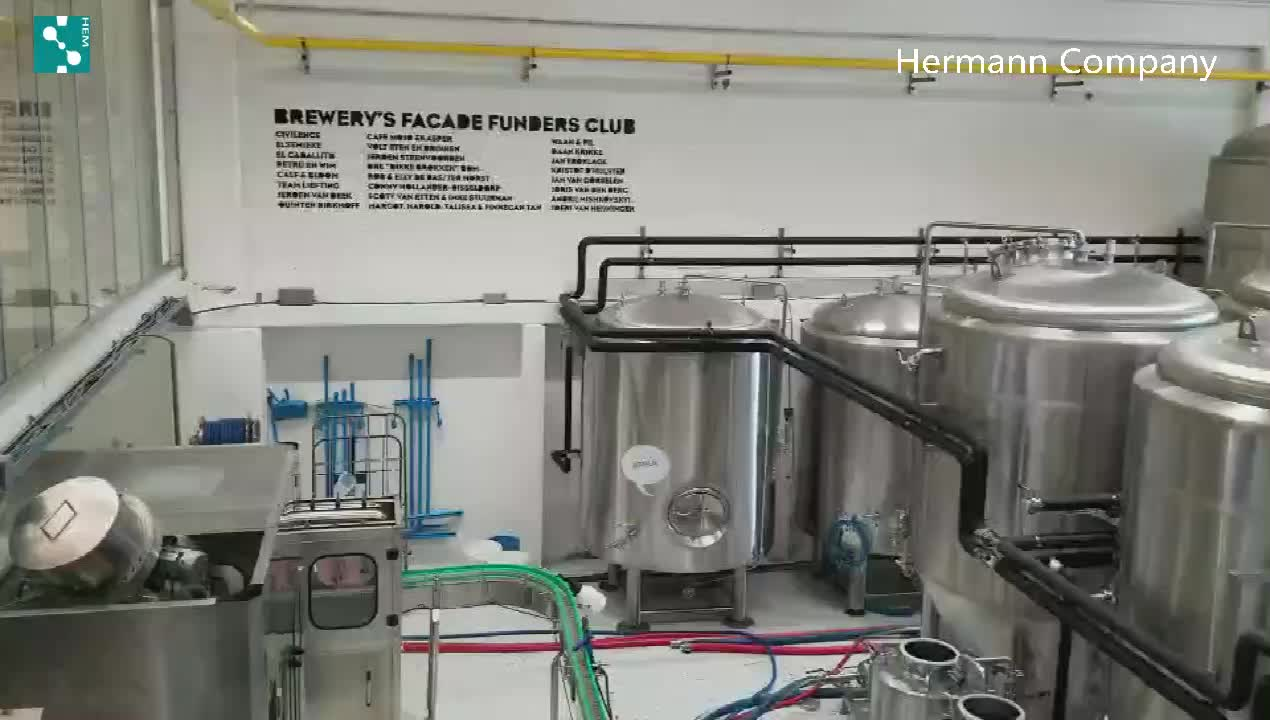 10HL 15HL 20HL  30HL SUS304 High Quality Complete  Beer Brewing System  Beer Equipment for Micro Brewery
