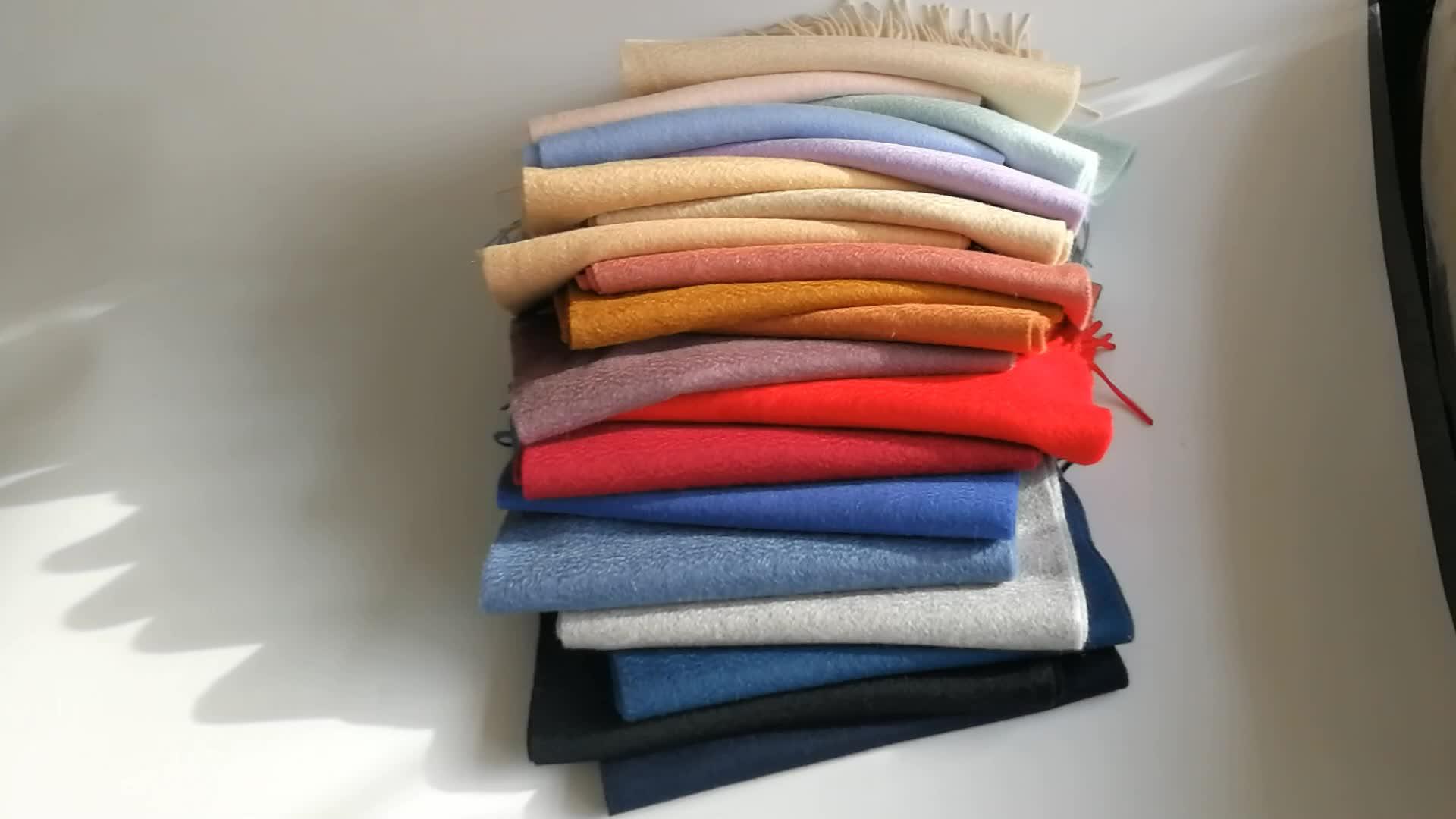 2019 高品質古典的な冬のスタイルのファッション 100% カシミヤスカーフ男性