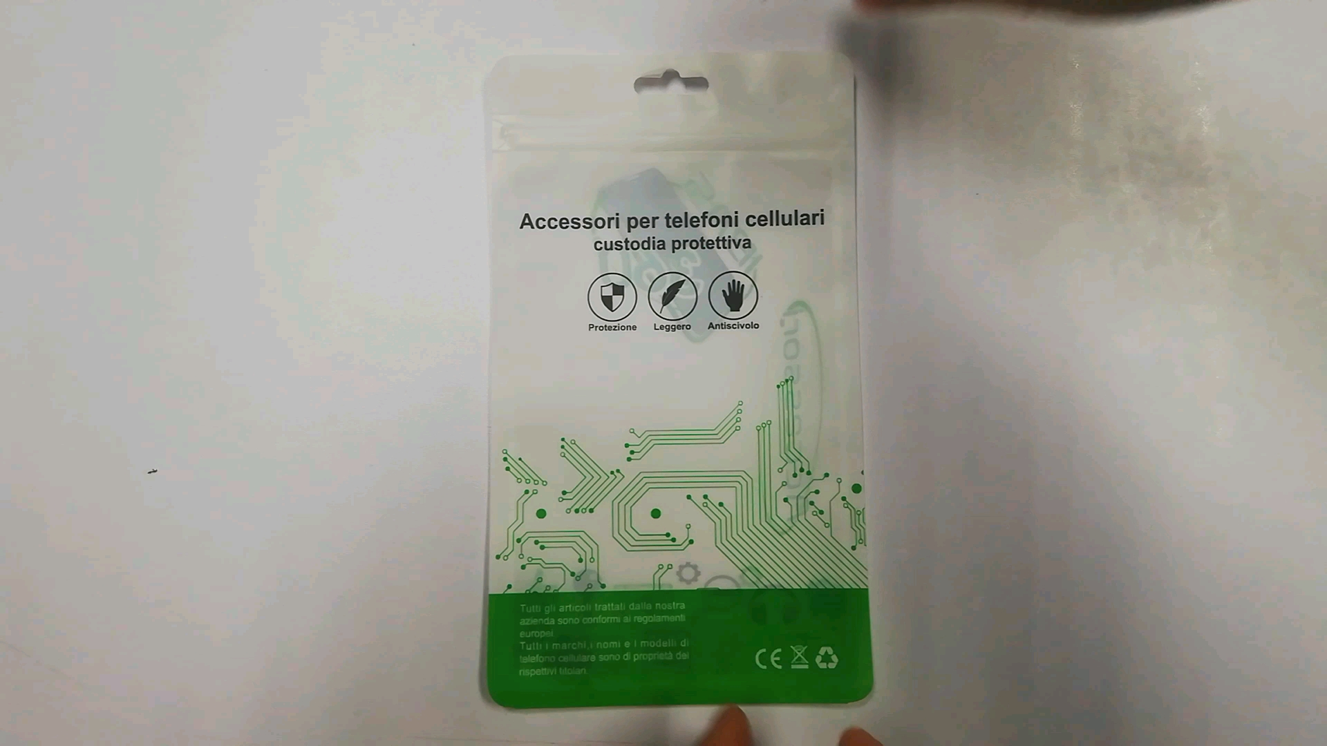 Smell Proof Mylar ziplock bags for mobile phone accessories iphone