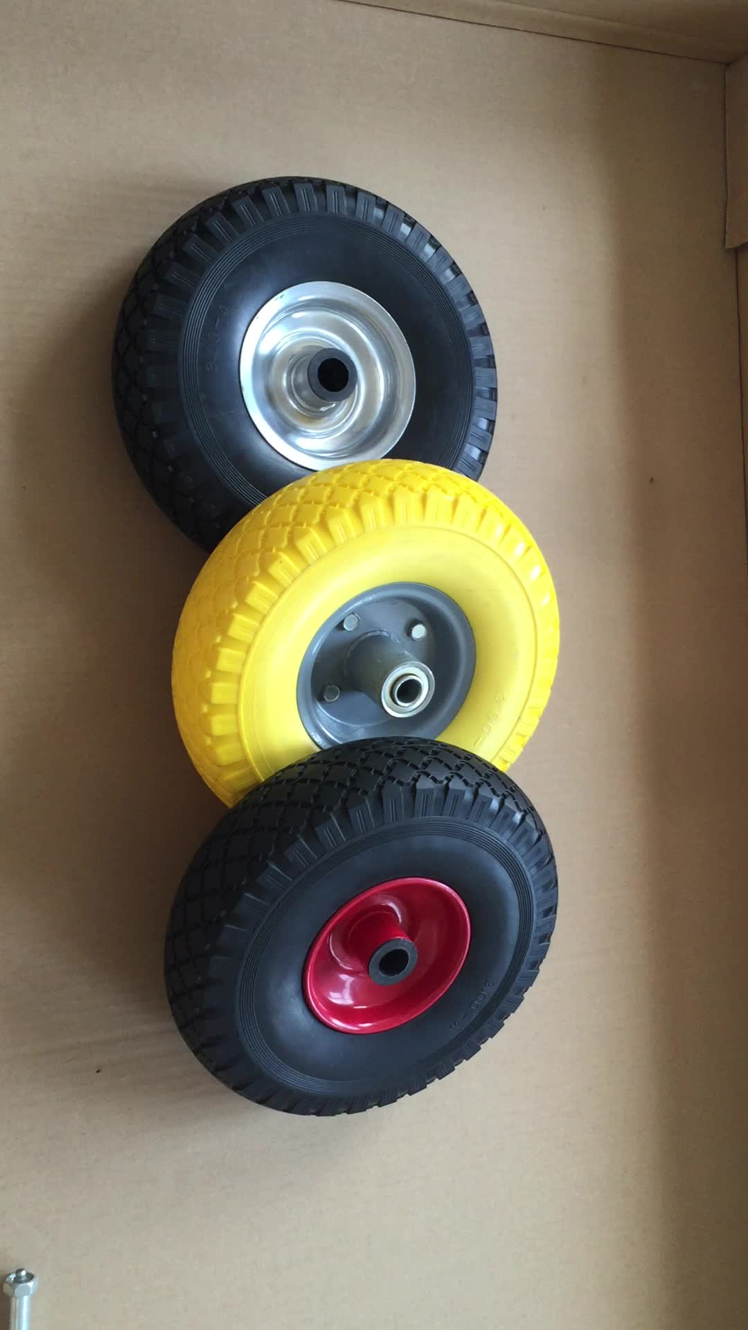 3.00-4 Pedal Go Kart Wheels And Tires 260x85