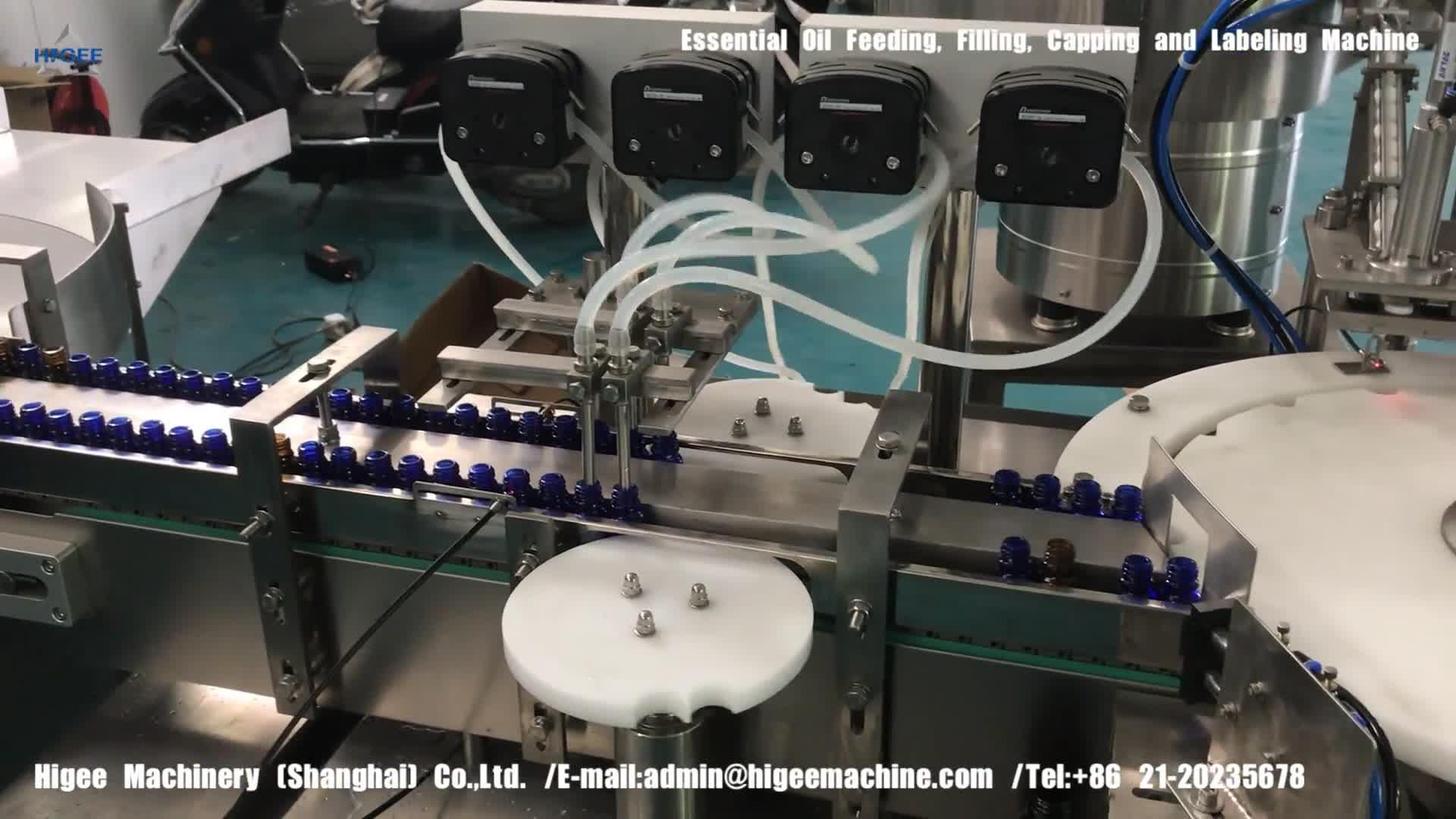 อัตโนมัติขนาดเล็กขวด liquid filling capping และเครื่องติดฉลากขวดบรรจุเครื่องบรรจุสายการผลิตสำหรับบรรจุขวด