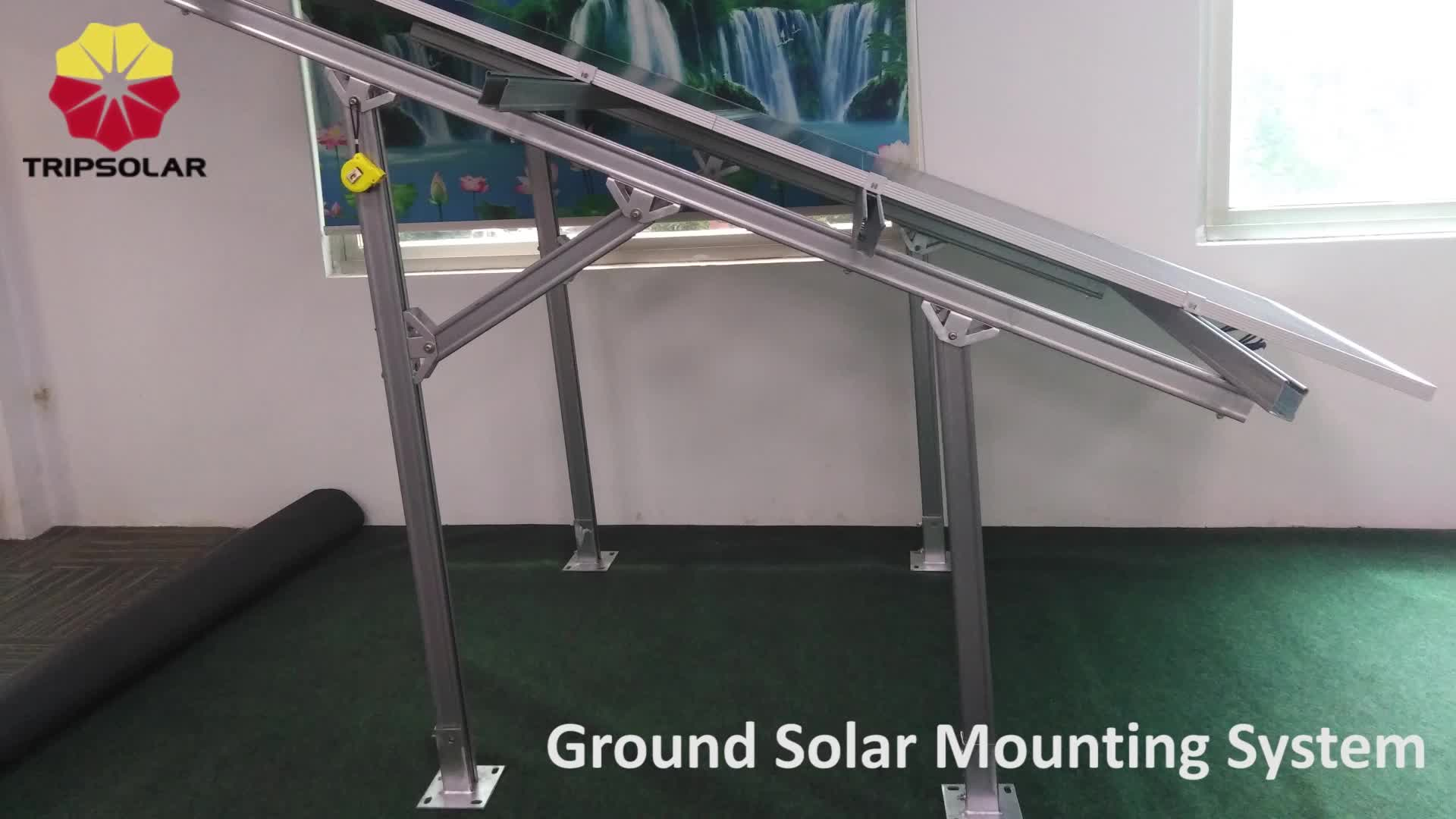 AS/NZS 1170 solar panel mounting aluminum rail