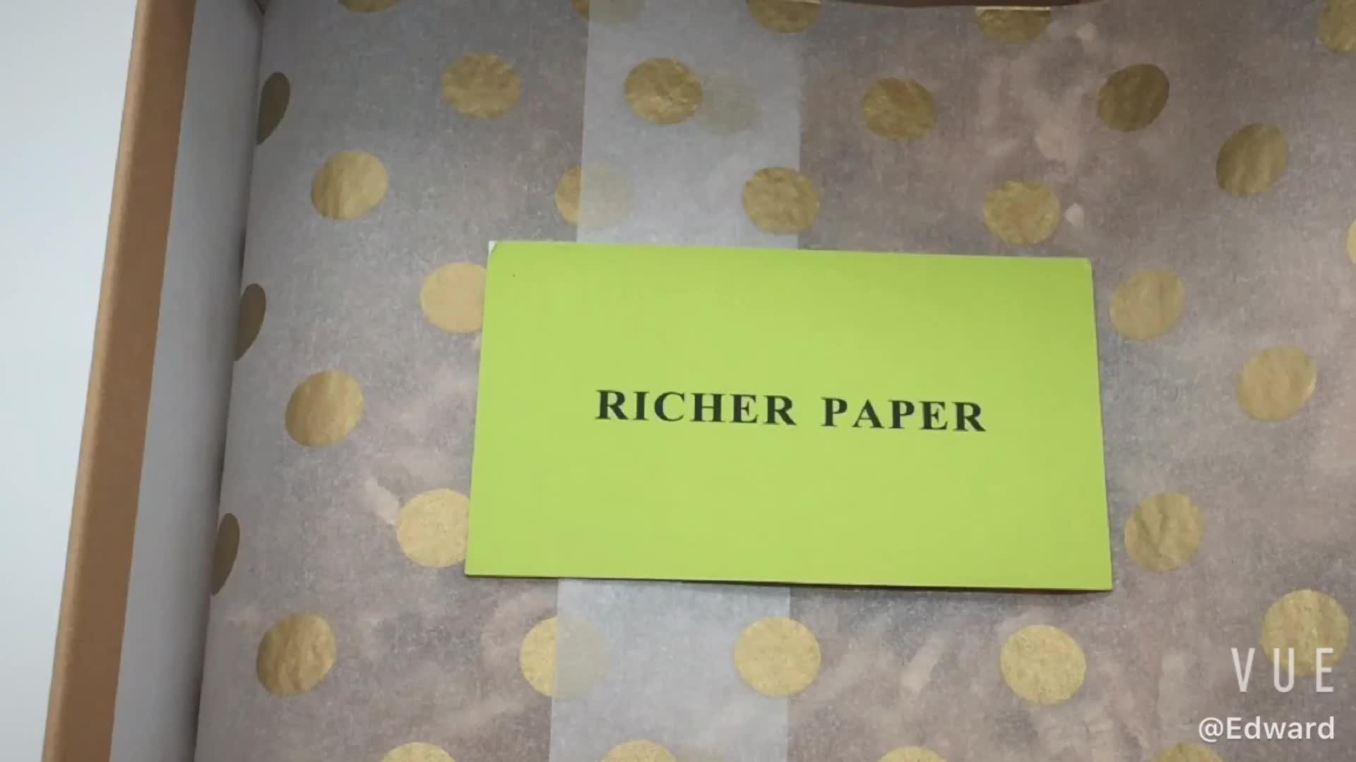 مخصص شعار الطباعة ورقة لفافة مناديل ورقية