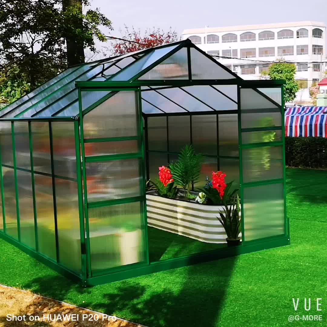 Commercial Used Prefabricated Balcony Greenhouse House Sale