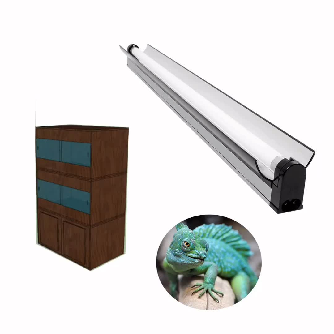 exporter reptile cage uvb bulbs lamp led reptile light fixture