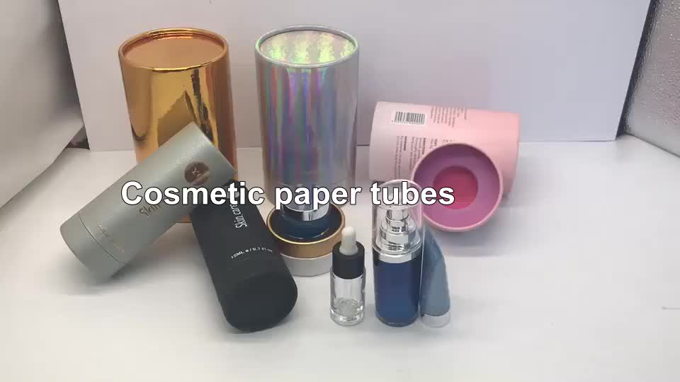 Su misura 10ml 15ml 20ml 30ml bottiglia contagocce contagocce bottiglia di olio essenziale di tubo di carta tubo di carta di imballaggio