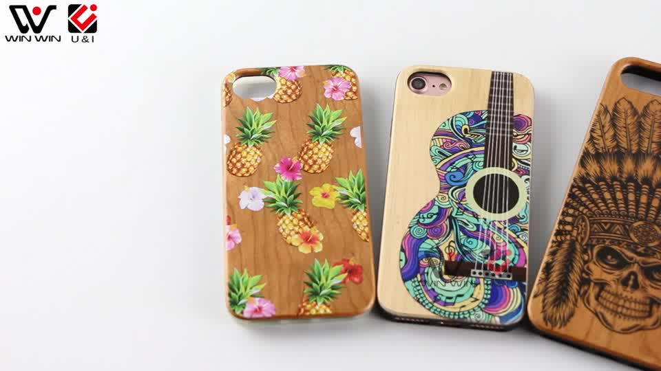 Real Bamboo Bulk Wood Cell Mobile Phone Case For IPhone 6