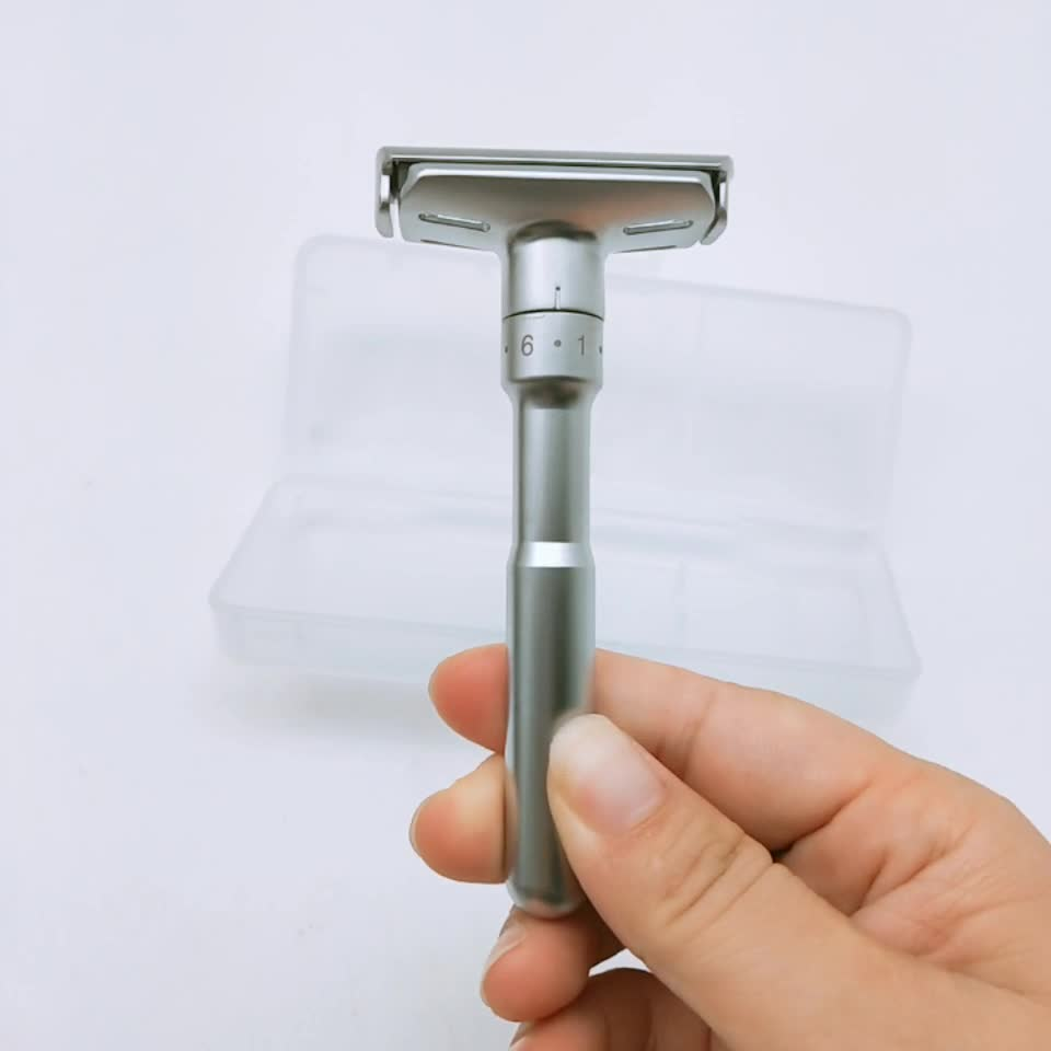 Hot Selling Wholesale Stainless Steel Barber Shaving Safety Razor