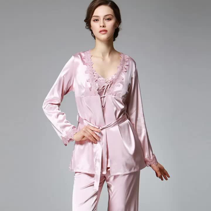 2018 Lynmiss OEM Hot Transparent Nachthemd Reife Frauen Sexy Nachthemden für