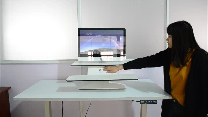 Miraculous Mount It Sit Stand Workstation Standing Desk Converter With Dual Monitor Mount Combo Ergonomic Height Adjustable Tabletop Desk Buy Height Download Free Architecture Designs Xoliawazosbritishbridgeorg