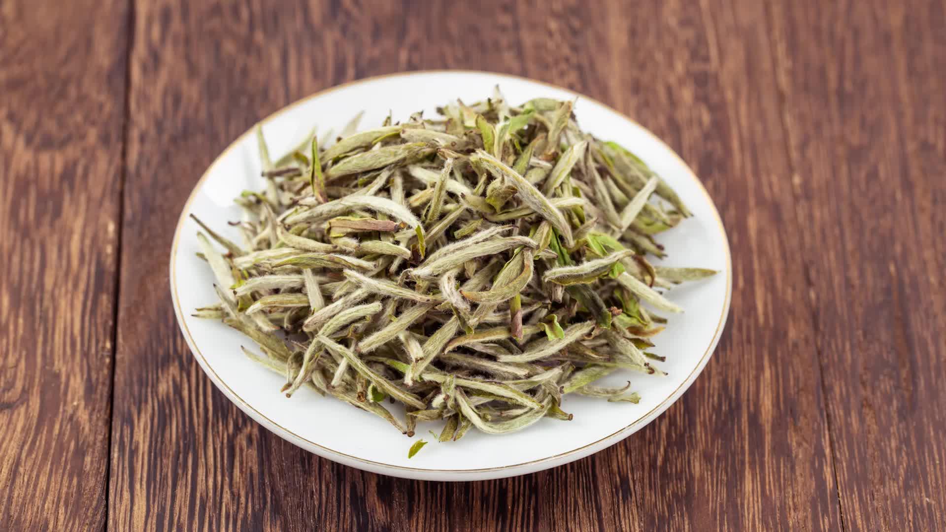 Imperial White Tea Yin Zhen Silver Needle Tea White Tea in Bulk
