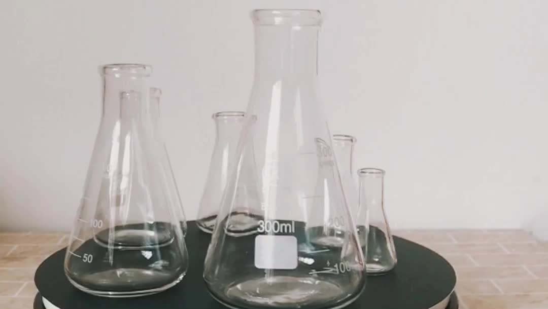 Good Quality Promotional Laboratory Glassware glass conical beaker