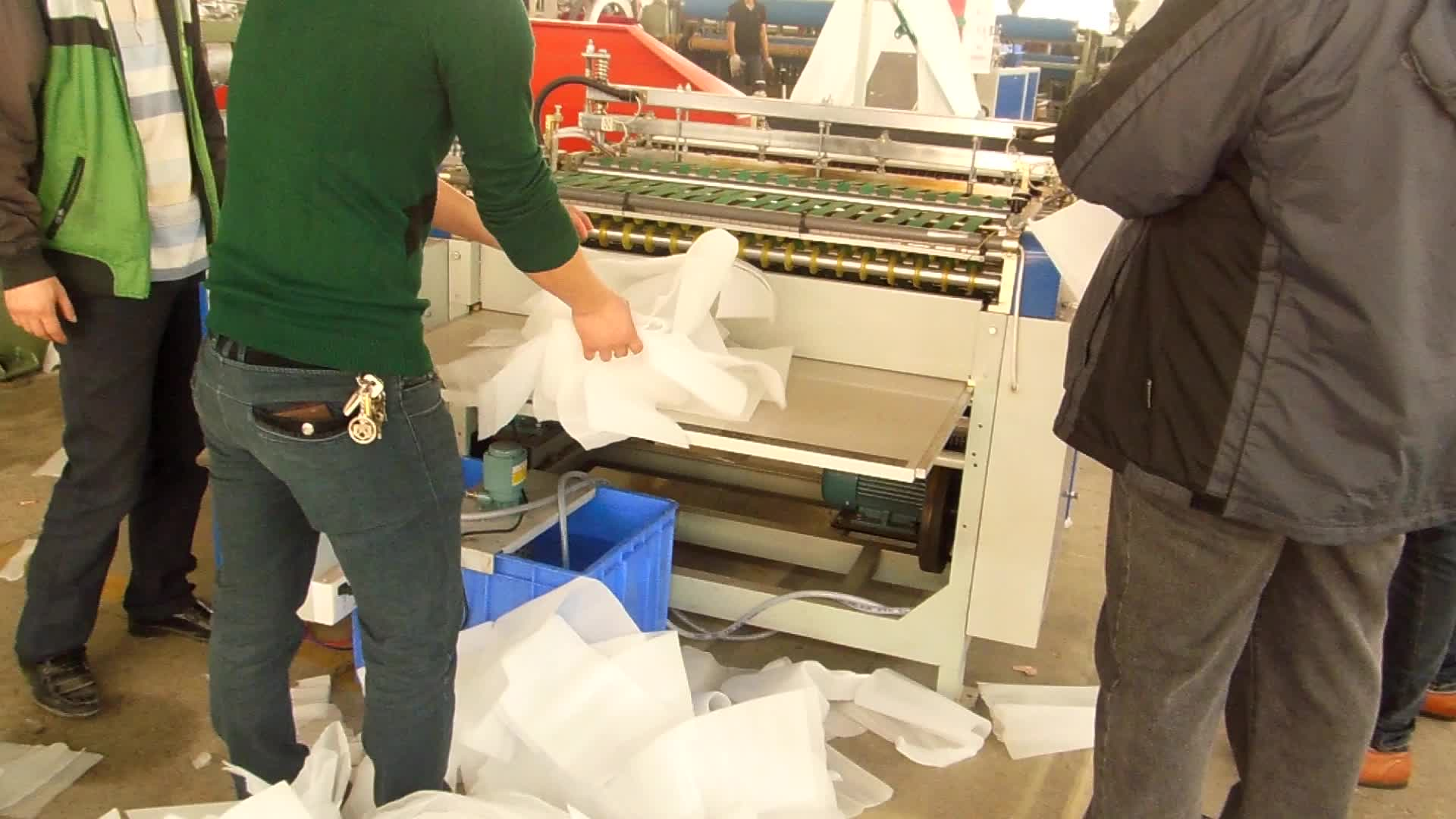 Simple Operation FLY-750 Plastic Bag Making Machine