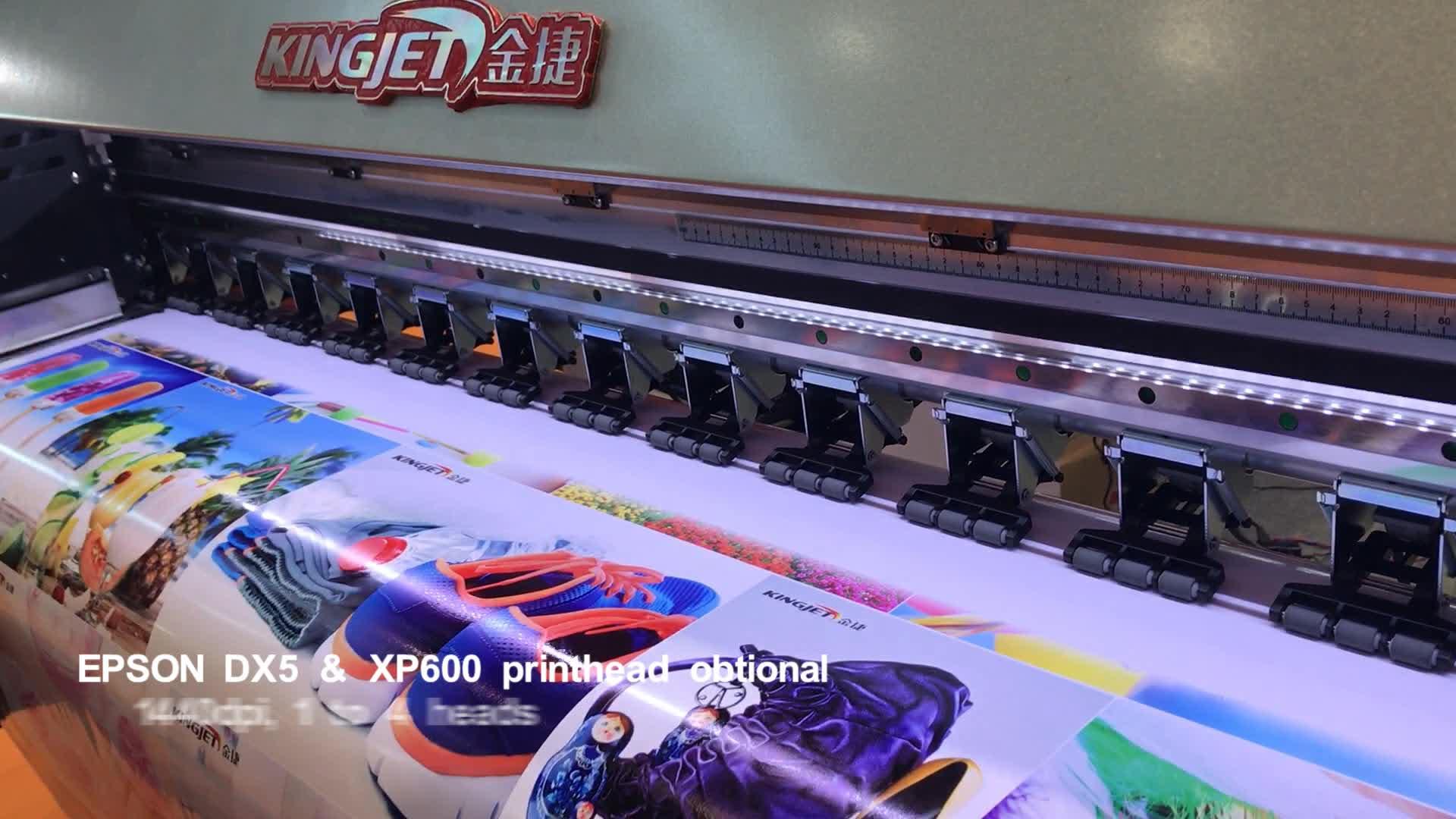 70sqm/h DX5 XP600 디지털 프린터 1.6m 1.8m 3.2m 중국 DX5 플로터 대형 포스터 캔버스 비닐 포장 에코 솔벤트 프린터