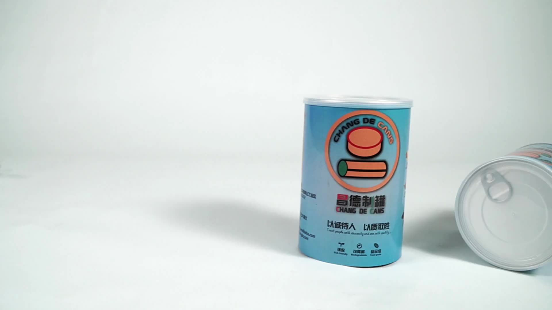 Custom 73mmdia Food Grade Round Paper Packaging Tube Composite Paper Can for Food Powder