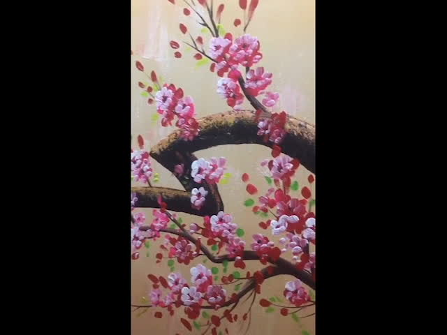 Abstract Flower Oil Painting Art Decoration Handmade Painting Canvas Wall Decor
