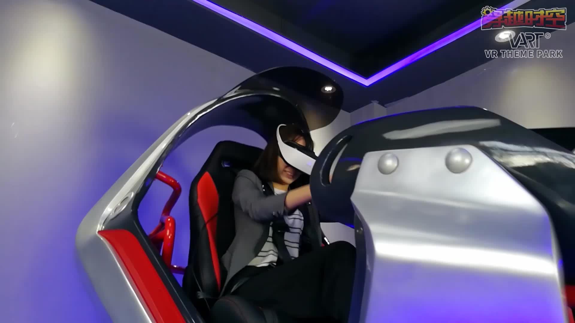 Варт погружения VR вождение автомобиля игровой оборудования 9D VR 3DOF движения гоночный автомобиль тренажер для продаж