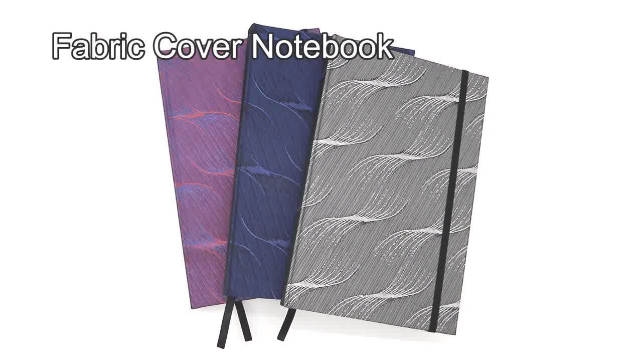 La escuela duro cubierta de negro planificador personalizado Notebook