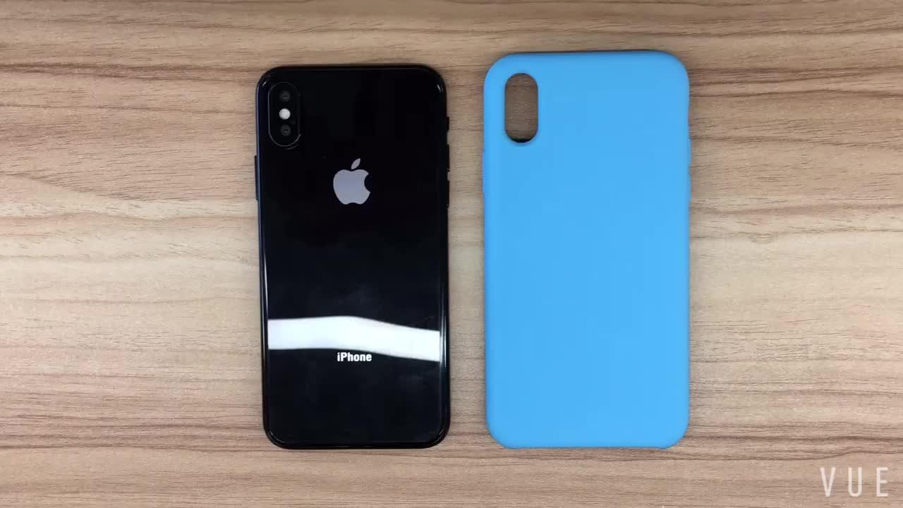 Chất lỏng Silicone Trường Hợp đối với iPhone 6 6 s 7 Cộng Với X 10 Trường Hợp Silicone Ban Đầu