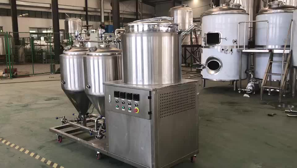 Nano brewery 100l 1bbl Electric All in One Beer Brew Kettle For Sale