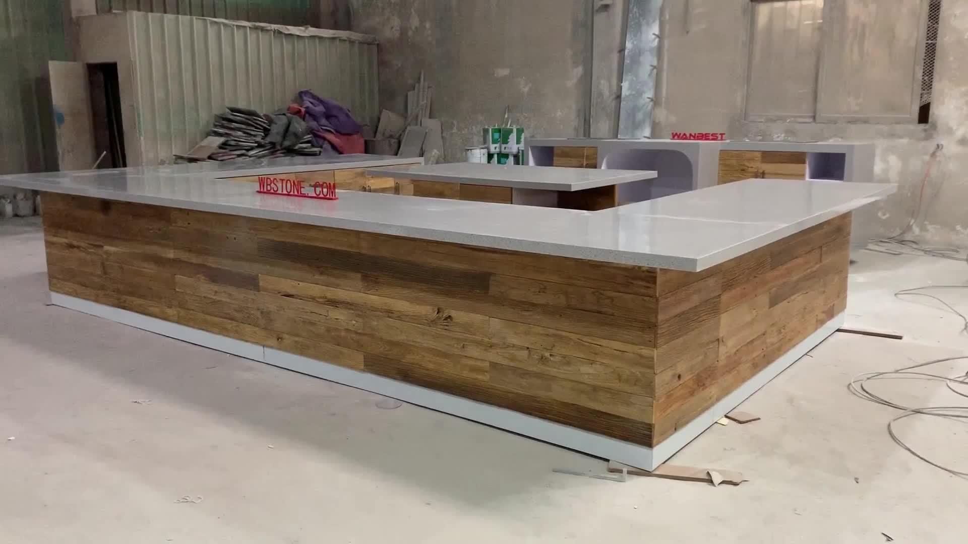 Современные мраморной столешницей кухонной мойки шкаф домашняя барная стойка Рабочий стол