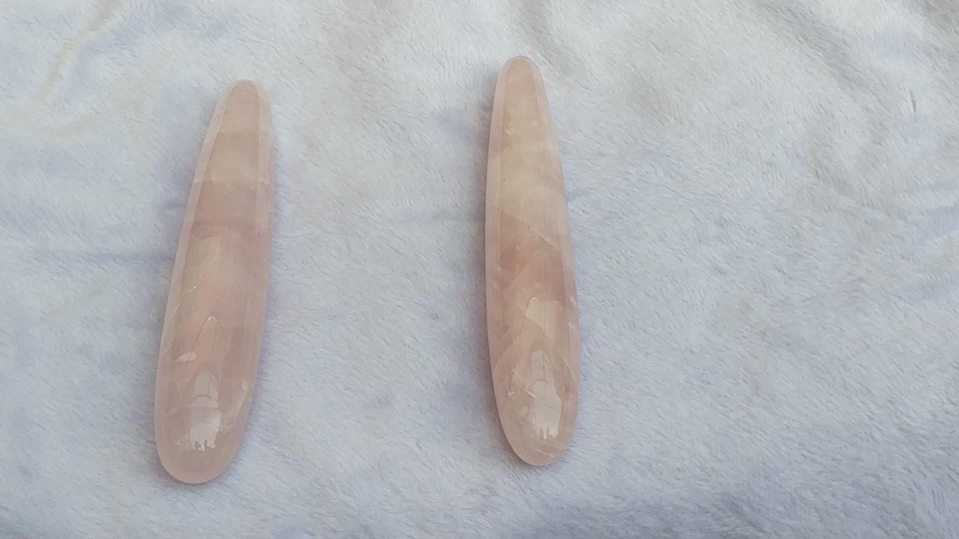 30mm/40mm Pó de cristal de cristal massagem vara vibrador brinquedo sexy feminino pênis de cristal pedra de cura.