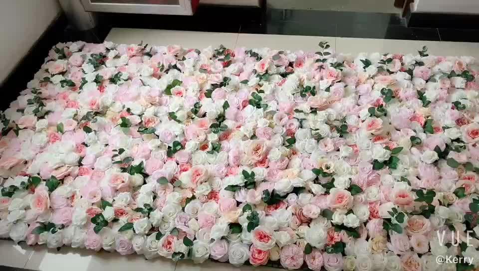 F-1357 Fábrica Barato Por Atacado Flor De Seda Parede Cenários de Palco Do Casamento