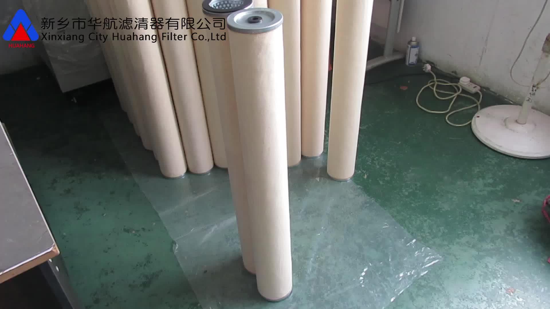 Coalescer öl wasser separator coalescing filter für entfernen öl von dampf
