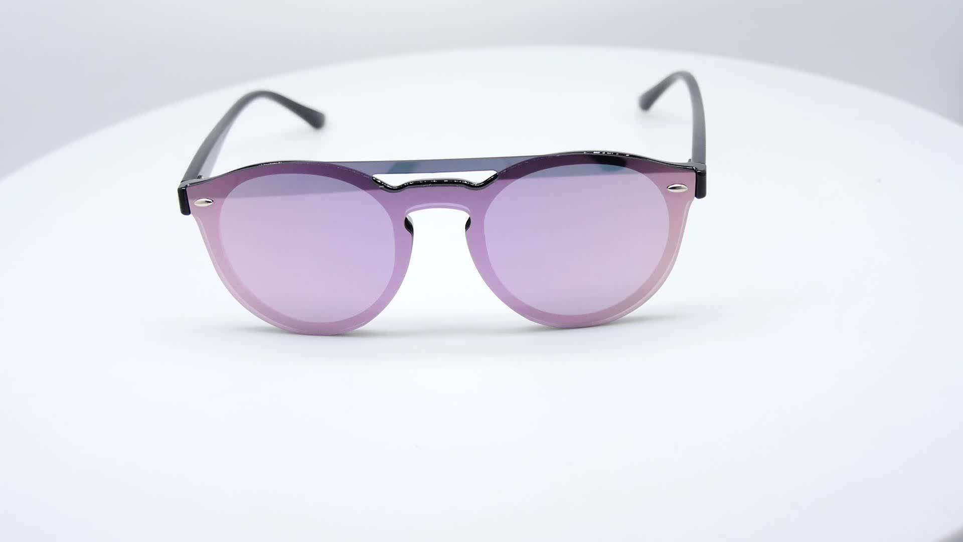 Xiamen Sofly Hohe Qualität Polarisierte Gold Ein Stück Linsen Sonnenbrille