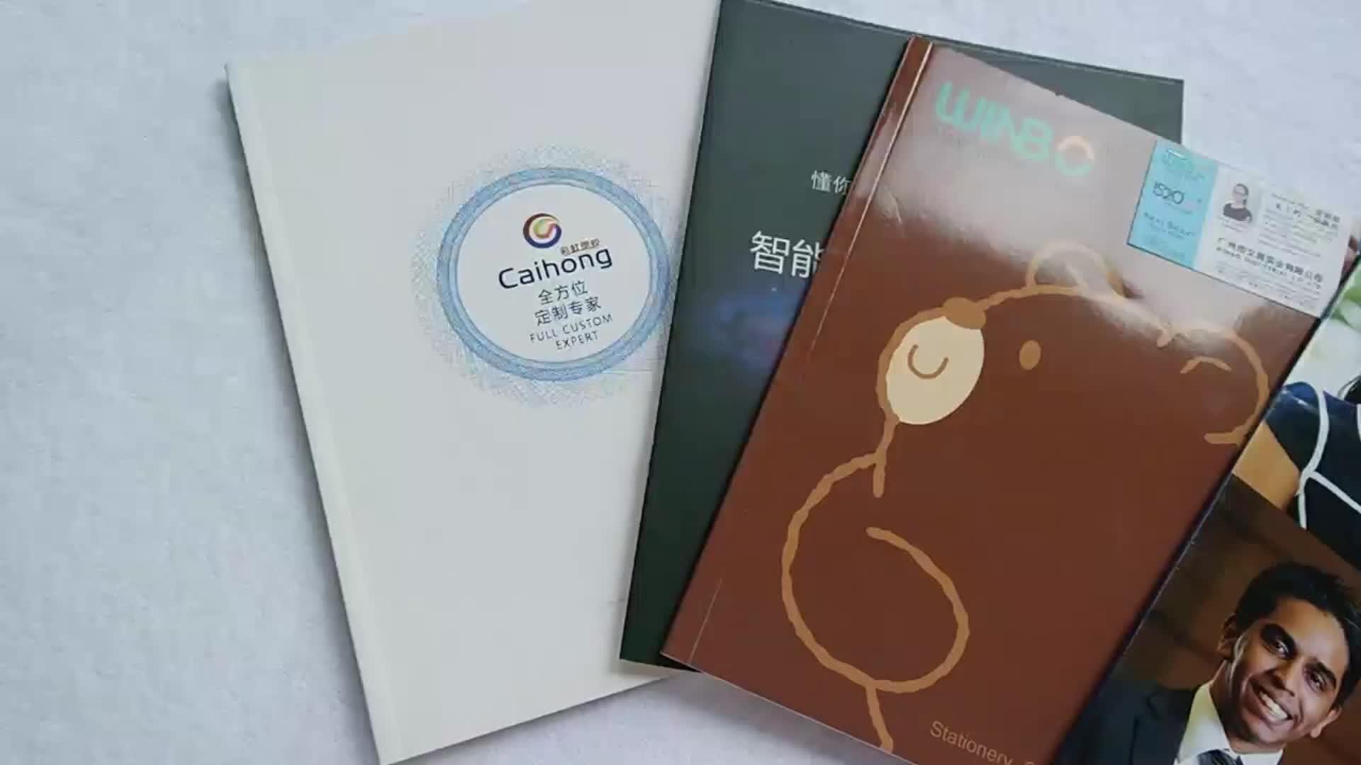 ハードカバーかわいい中国人 200 ページ a4 学校のノートブック