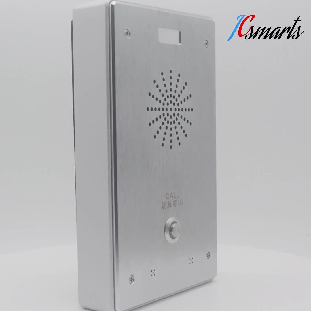 SIP Phone Intercom Pintu Masuk Sistem Tanda Bintang Door Phone