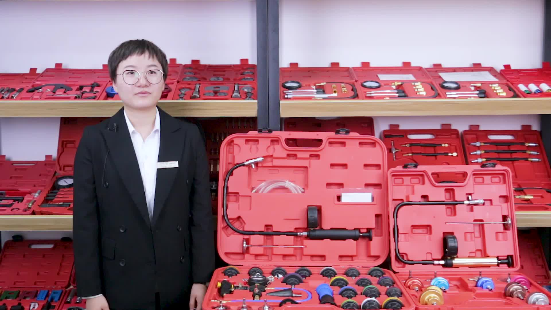 VT01064C garantía de alta calidad de refrigeración del radiador de la presión del sistema de