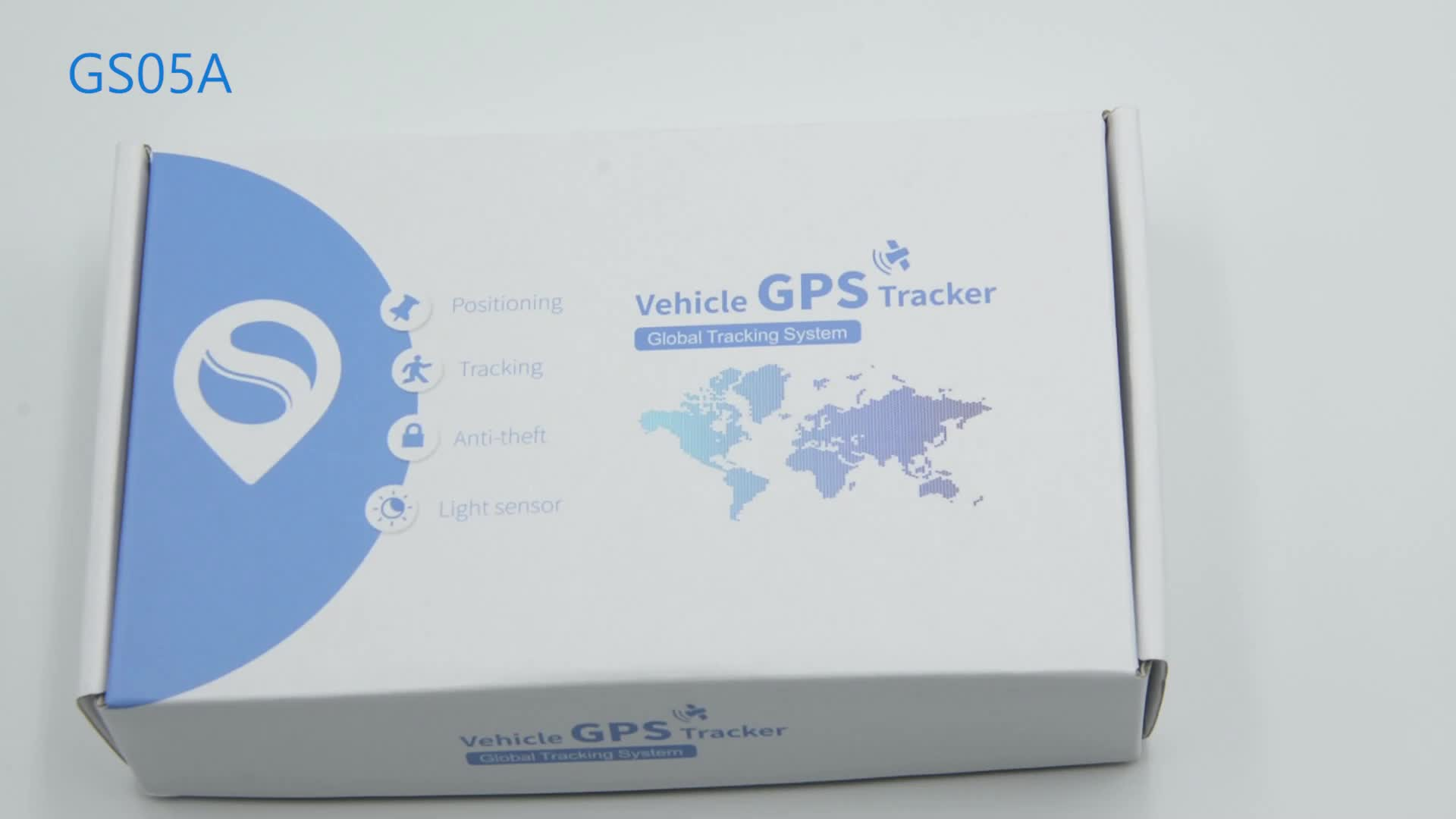 Goome GS05A จักรยานอุปกรณ์ติดตาม Mirco อุปกรณ์ติดตาม GPS สำหรับรถจักรยานยนต์ขนาดเล็กอุปกรณ์ GPS Global Tracker