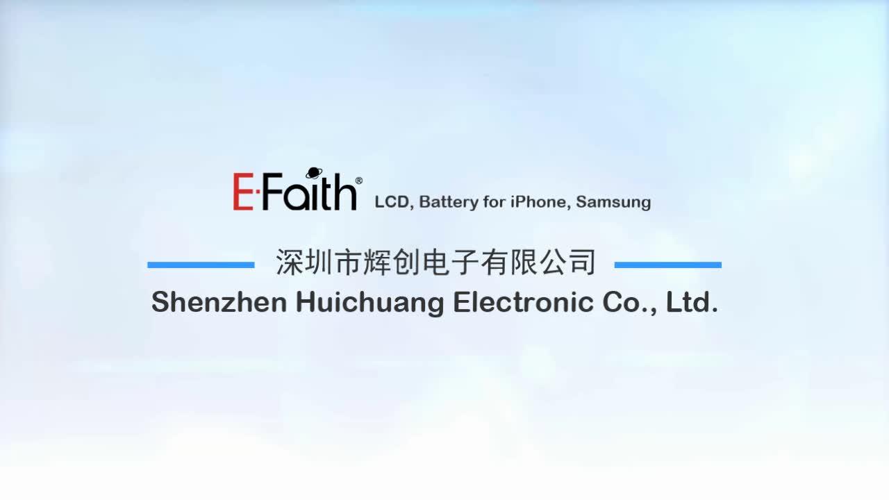 Tela de toque original da E-Fé, digitador flexível LCD da exposição de tela de OLED para o iPhone X