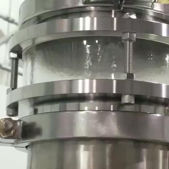 Sürekli çalışma Zorla tipi buharlaşma kristalleştirici makinesi tuz yapma makinesi