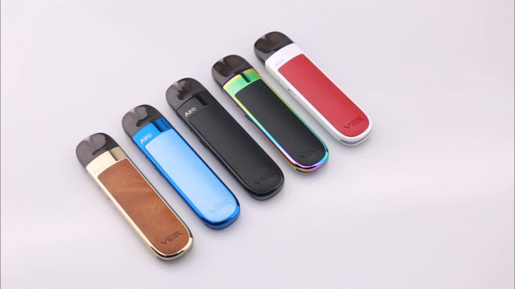 Luxurious leather Veiik Airo vape pod cbd vaporizer cartridge
