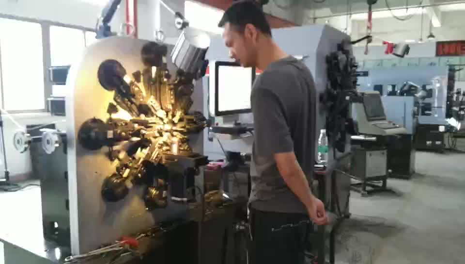 0.2-2.5mm CNC automatic spring machine stainless steel wire forming machine