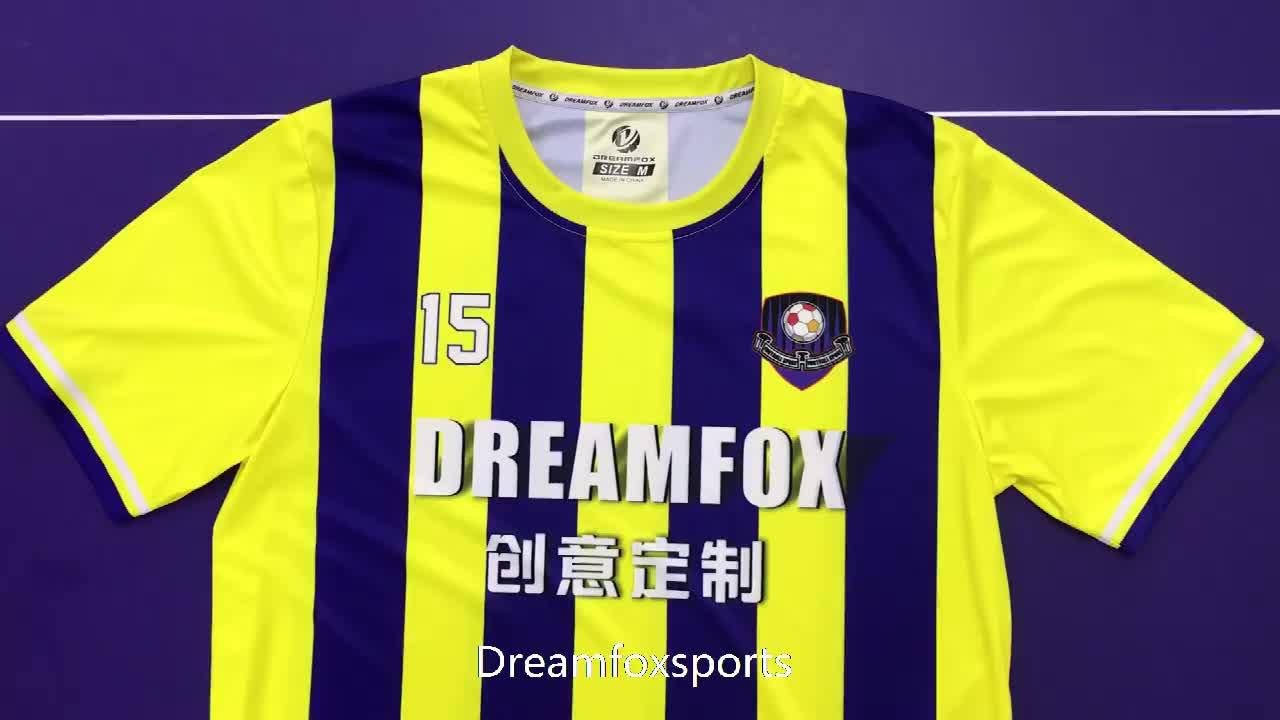 Maillot de football vierge personnalisé, uniforme de football en jersey, pour enfants, nouveau design, bon marché, 2020