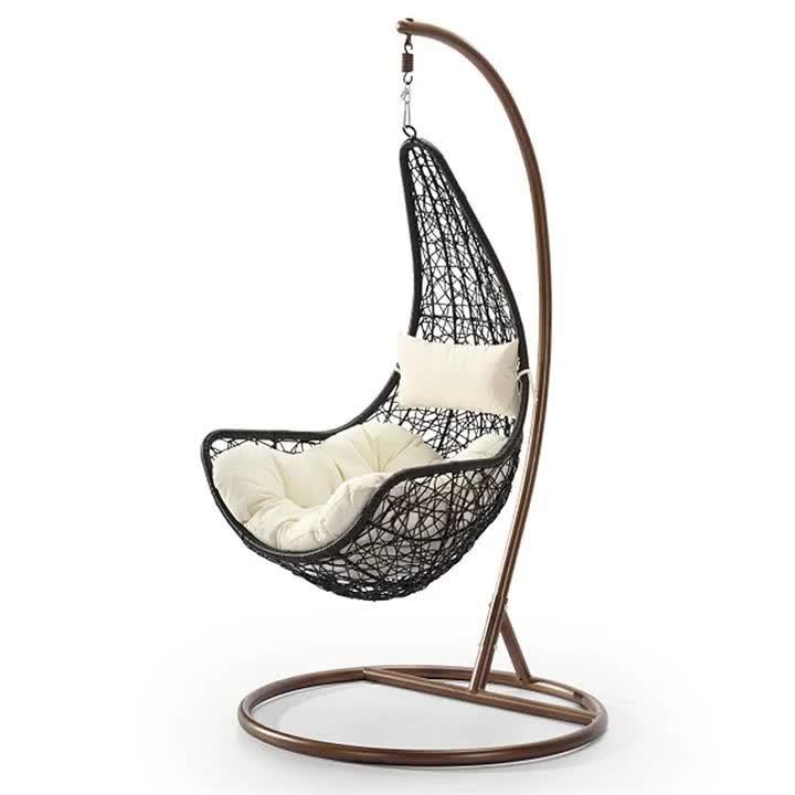 Casulo Pendurado Cadeira de Vime Cadeira de Balanço Balanço Do Jardim Ao Ar Livre