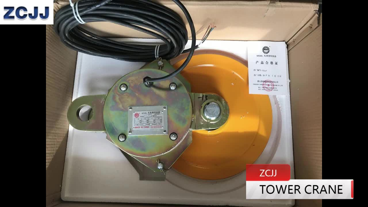 Weight Sensor Limit Switch Zoomlion Tower Crane Load Cell