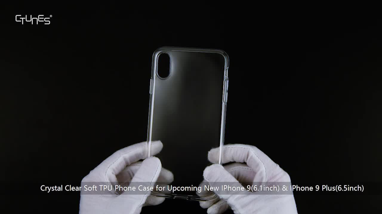 บางใสใสป้องกันฮาร์ดโทรศัพท์ปกกรณีสำหรับS Amsung G Alaxy S9