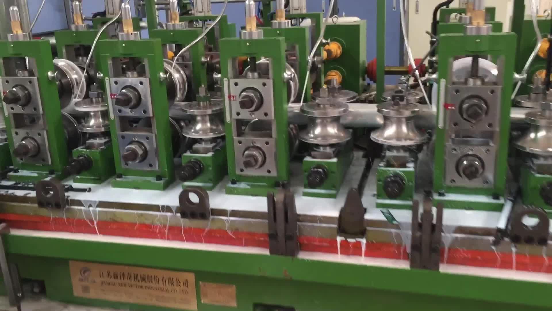 steel square tube/pipe making machine