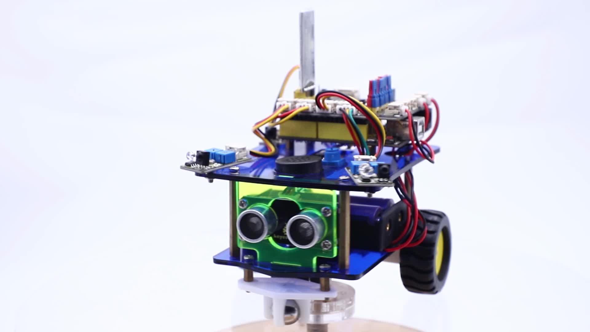 Keyestudio Bluetooth Intelligente Robot Kit da Auto per Arduino Robot Giocattolo