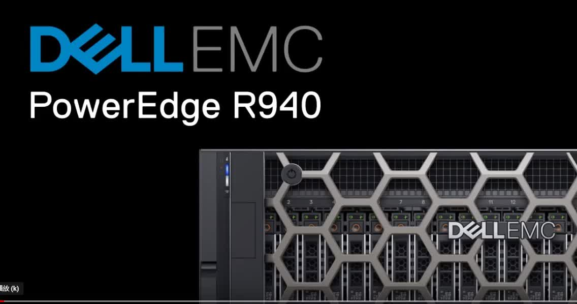 Best selling products Dell PowerEdge R940 2x Intel Xeon Gold 6134 3.2G Server